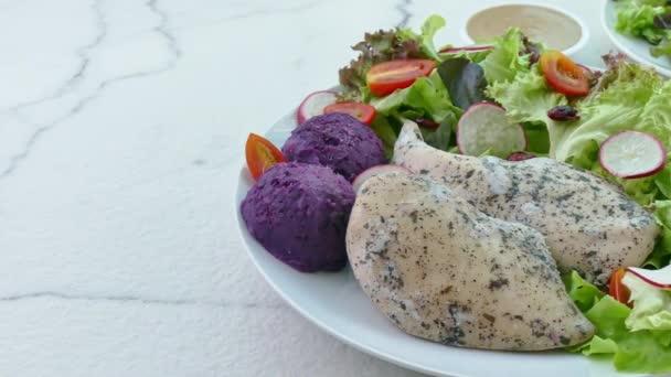 delicious fish salad