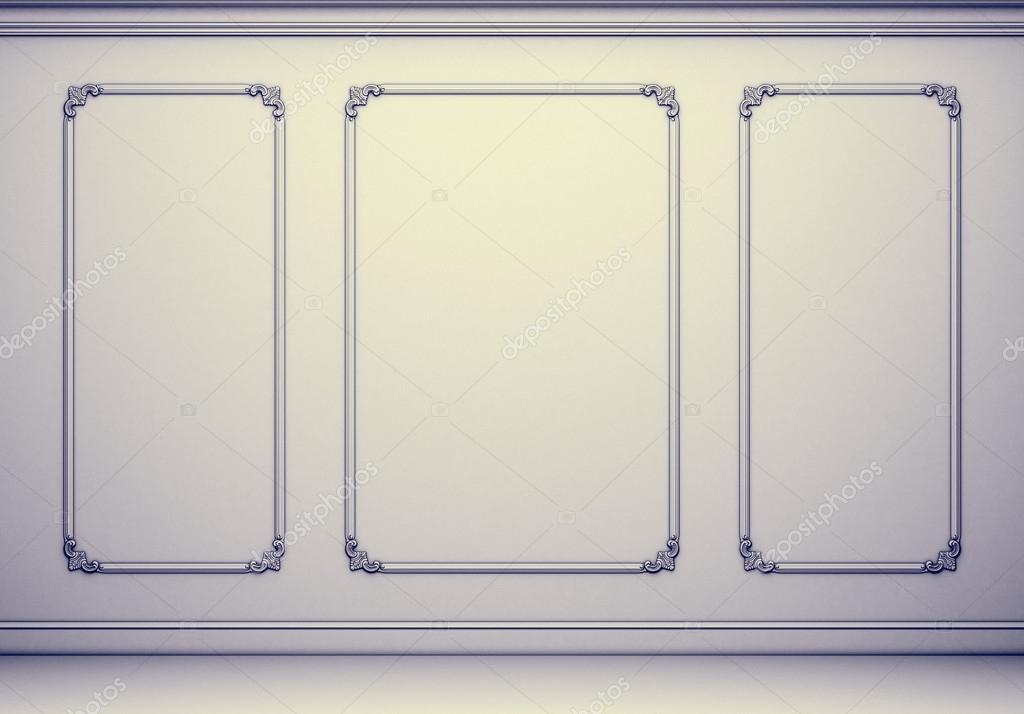 Kühlschrank Zierleiste : Klassisches interieur mit zierleisten u2014 stockfoto © belov1409.yandex