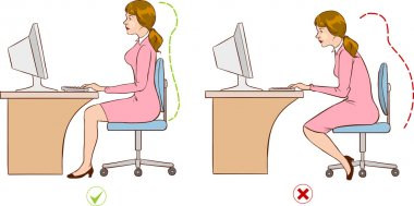 ergonomic seating patterns