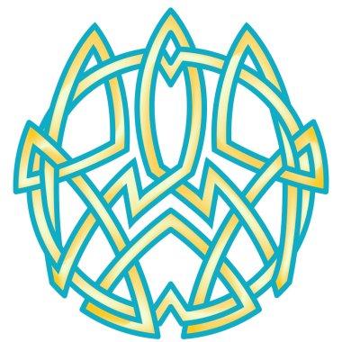 Ukrainian trident emblem