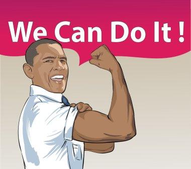 President Barack Obama illustration