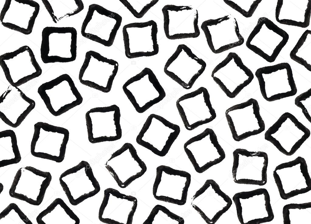 grunge zwarte  vierkante lijnen patroon  u2014 stockfoto  u00a9 4