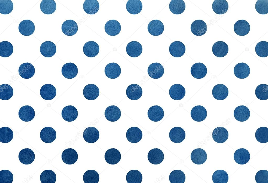 Watercolor Dark Blue Dot Background Stock Photo 169 4 S