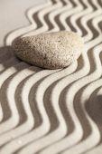 homokos és köves a szépség spa vagy nyugalmát koncepció