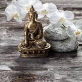 bronzový Buddha pro spiritualitu a samice vnitřní krásu
