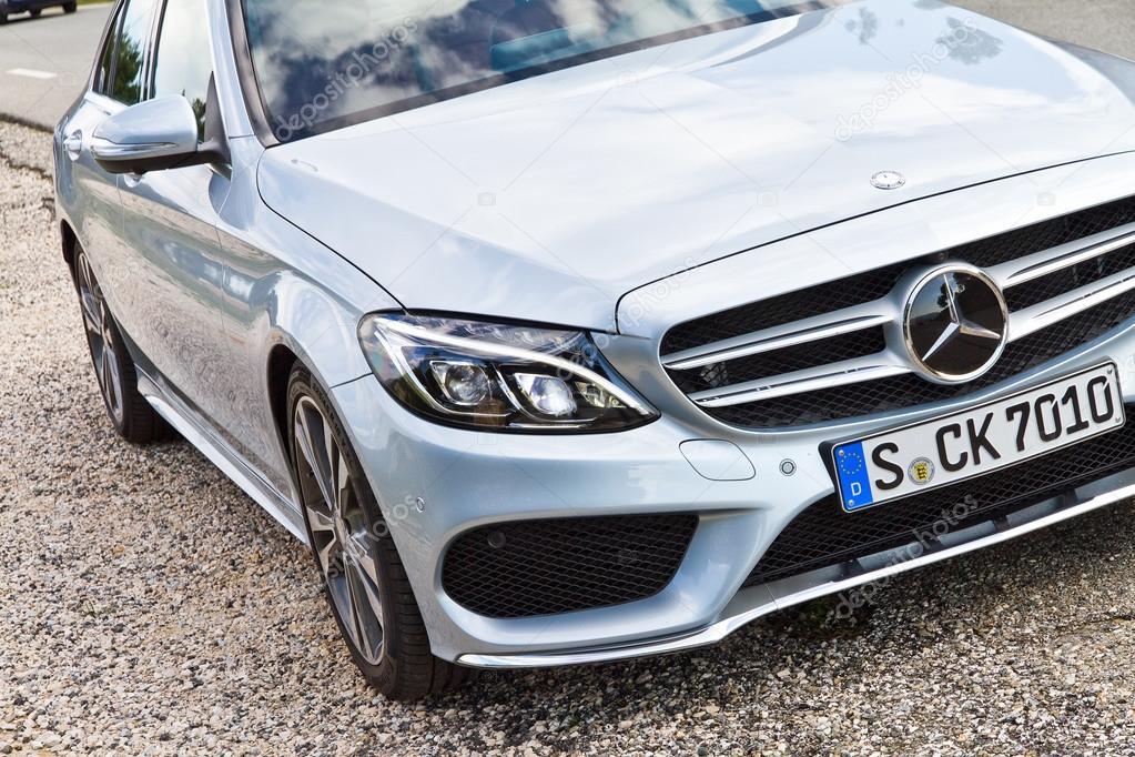 Mercedes Benz Classe C 2014 2015 Modelo U2014 Fotografia De Stock