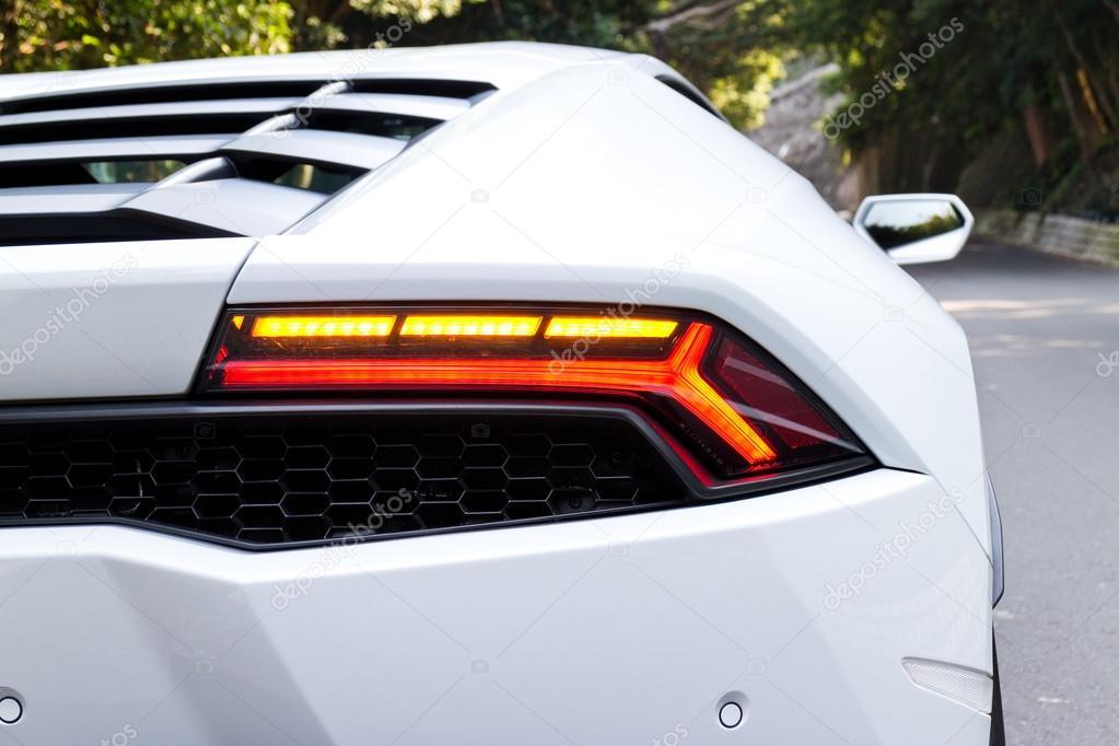 Lamborghini Huracan Lp610 4 2014 Back Light Stock Editorial Photo
