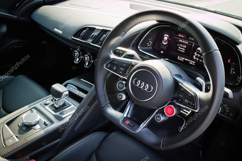 Audi R8 2016 Interior U2014 Stock Photo