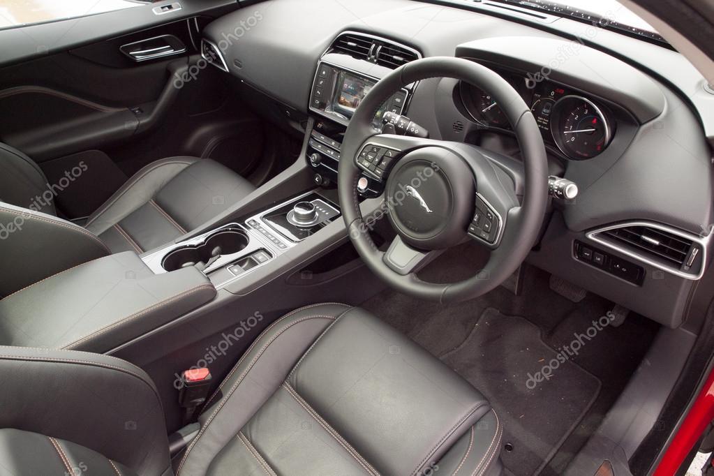 Jaguar F-Pace 2016 Interior – Stock Editorial Photo © teddyleung ...