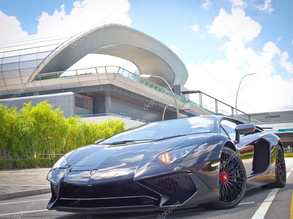 Lamborghini Aventador Lp 750 4 Superveloce 2015 Test Drive Dia U2014 Fotografia  De Stock
