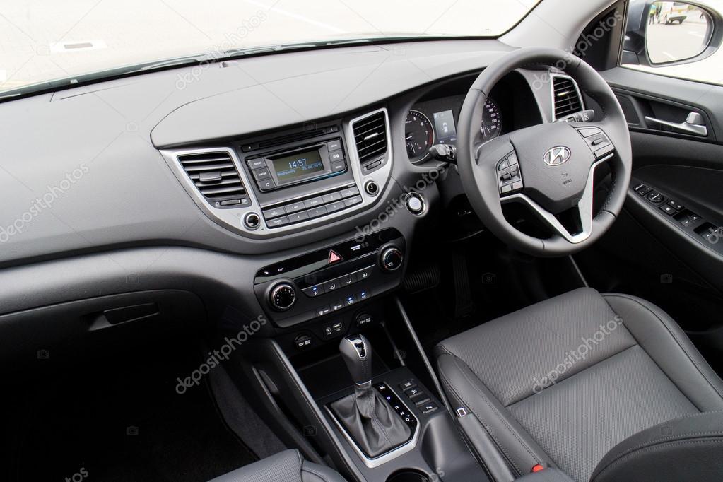 Hyundai Tucson Facelift 2015 Interior U2014 Stock Photo