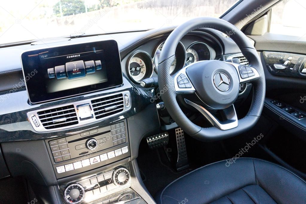 Mercedes-Benz Cls 400 2014 Interieur — Redaktionelles Stockfoto ...
