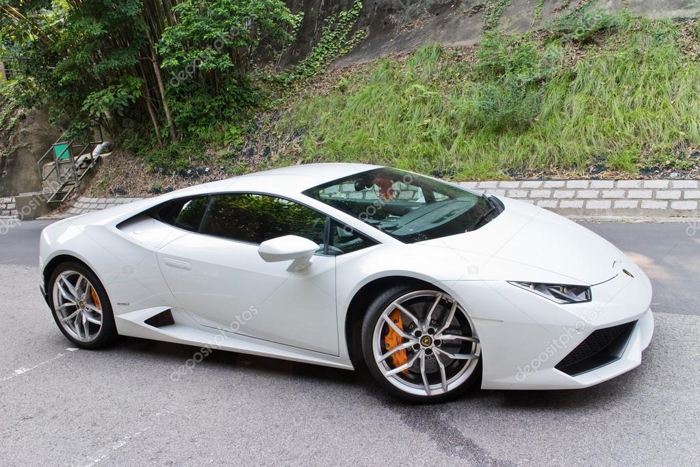 Lamborghini Huracan Lp610 4 2014 Test Drive U2014 Fotografia De Stock