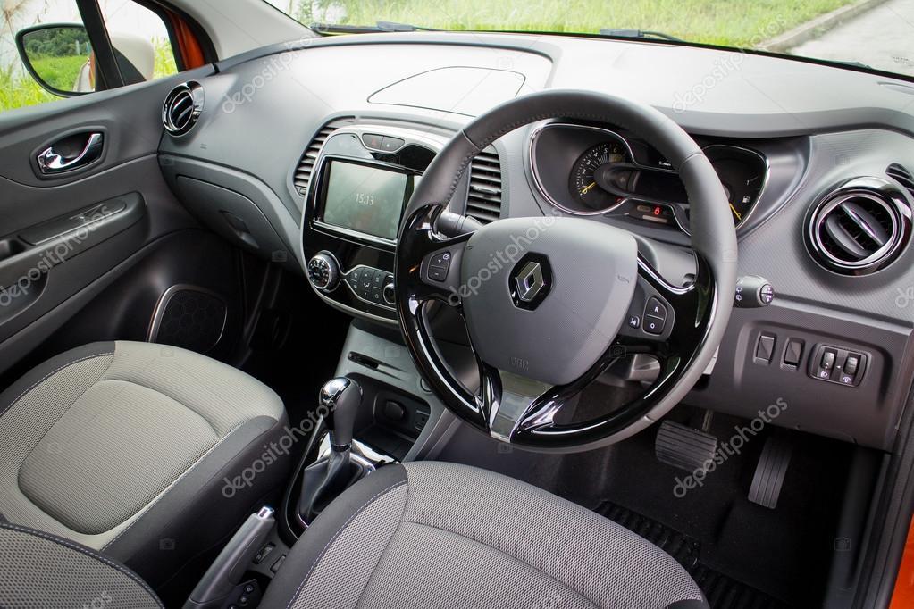 Renault CAPTUR interior on May 21 2014 in Hong Kong. – Stock ...