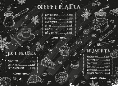 Coffee restaurant brochure