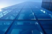 sklo, plátované fasáda moderní budovy