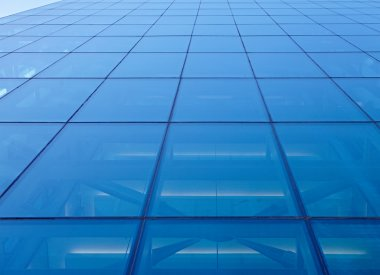 building covered in reflective plate glass