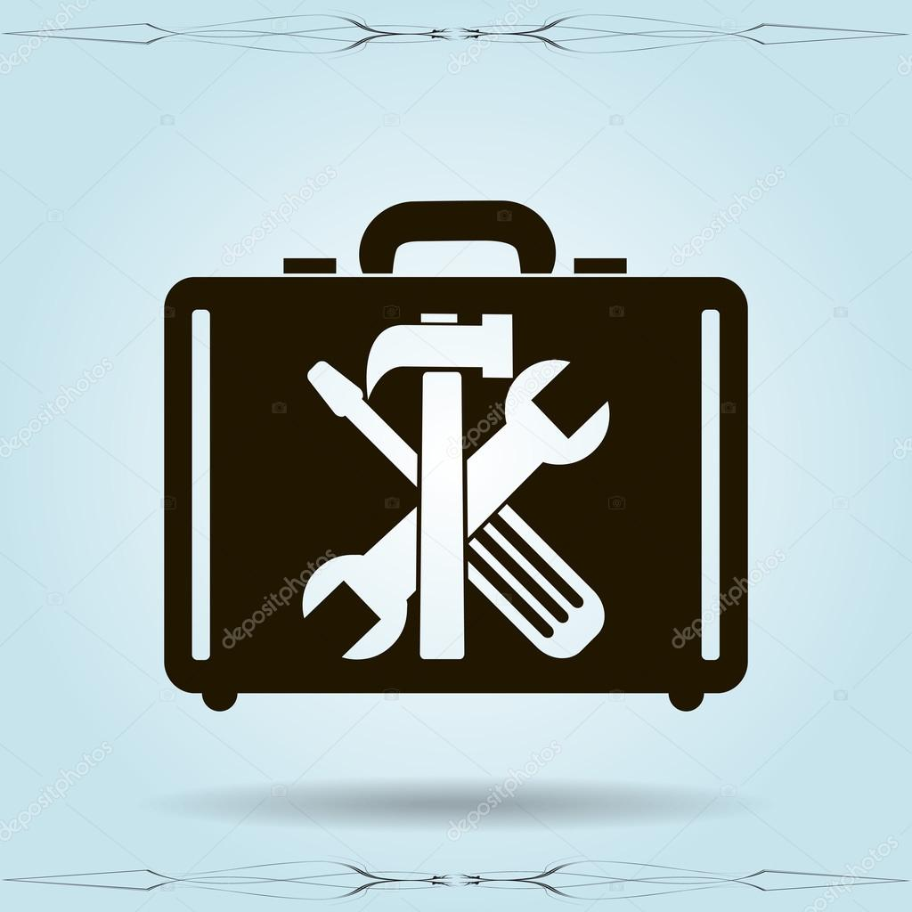 tools in the bag  icon