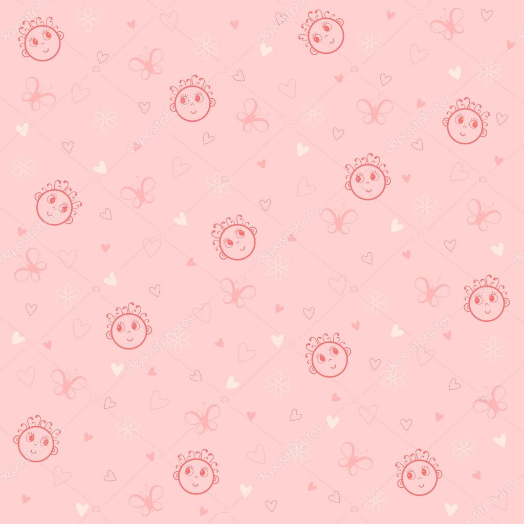 Vector child's pattern