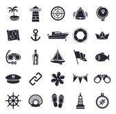 Námořní a mořské ikon