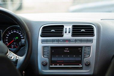 Inside Car Dashboard