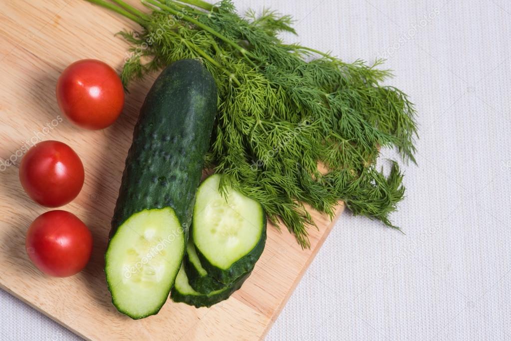Помидорная и огуречная диета для похудения