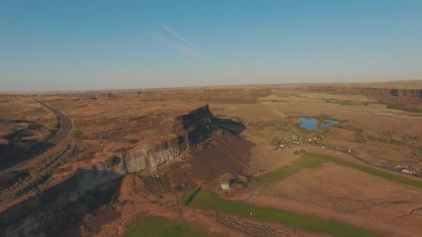 4k letecké dálnice a golfové hřiště