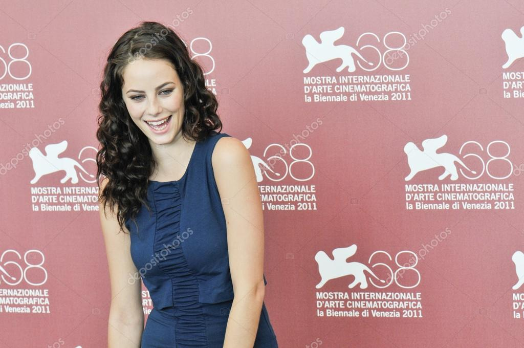 VENICE - SEPTEMBER 6: Actress Kaya Scodelario