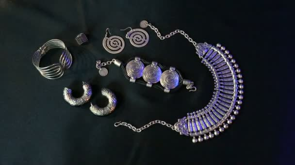 Set of Beautiful Oriental Silver jewelry (Indian, Arab, African, Egyptian)