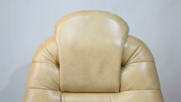 New Leather Office Boss Chair (armchair).
