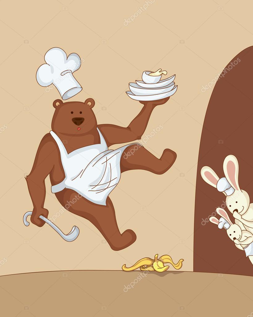 вариант фотожаба на медведя и зайца новым годом покупатели