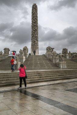 Vigeland Park, the monument Monolith