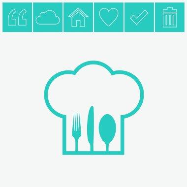 Vector web icon.
