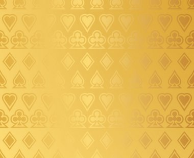 Vector background with casino design elements