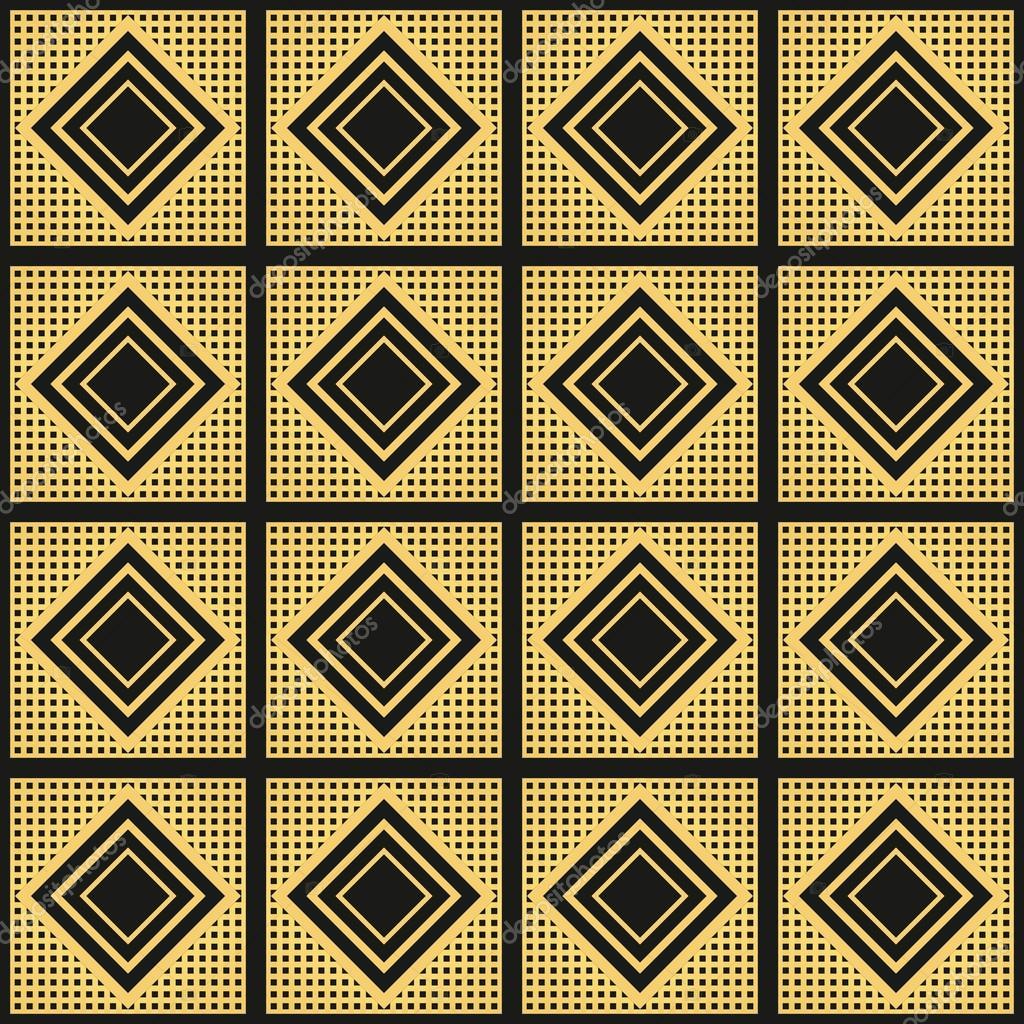 art deco vintage wallpaper pattern geometric decorative pattern stock vector mykhaylova. Black Bedroom Furniture Sets. Home Design Ideas