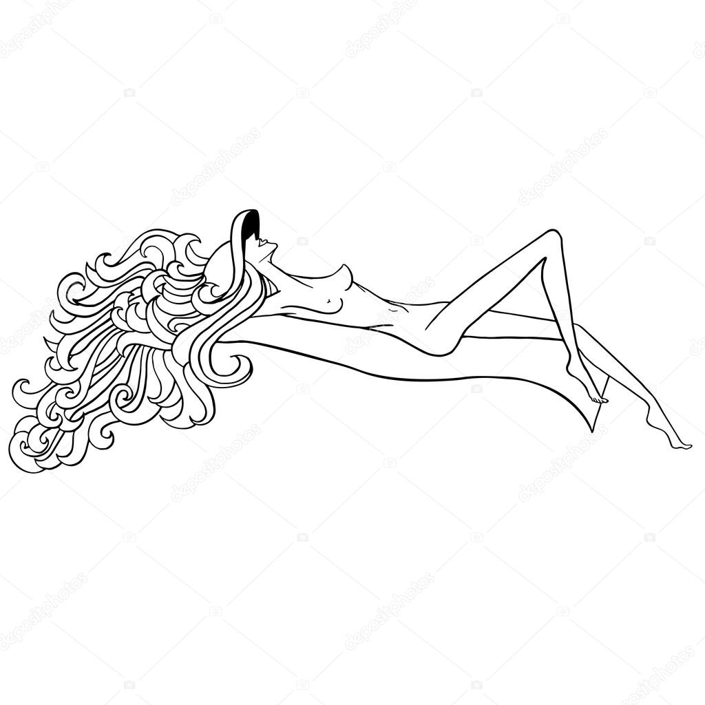 nude girls sunbathing