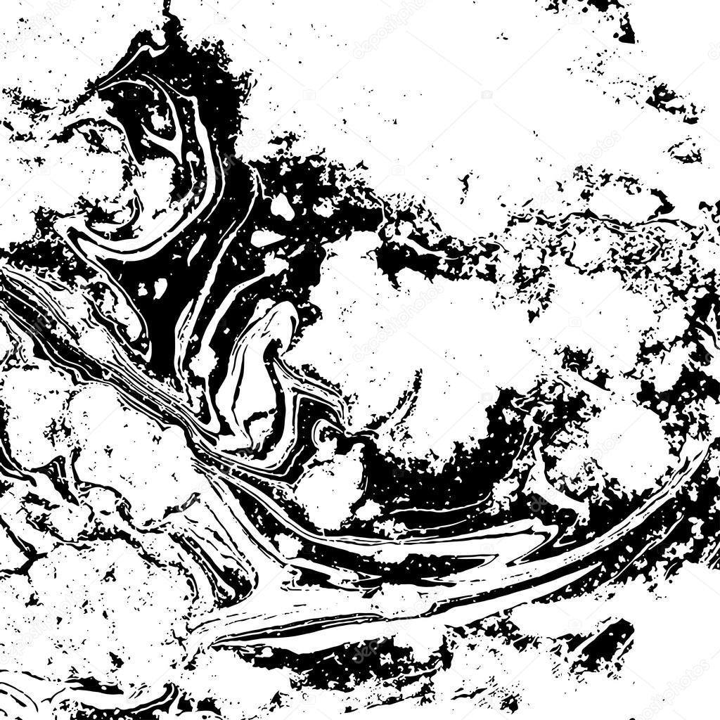 Textura de m rmol blanco y negro ilustraci n de vector for Marmol negro y blanco
