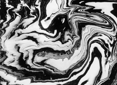 Black and white marbling background
