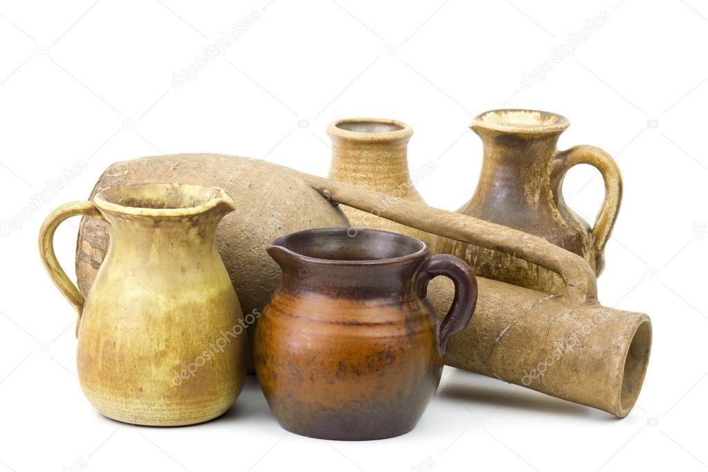 Ollas de barro jarrones de cer mica antiguos fotos de - Jarrones de ceramica ...