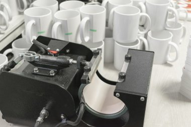 sublimation printing equipment and mugs
