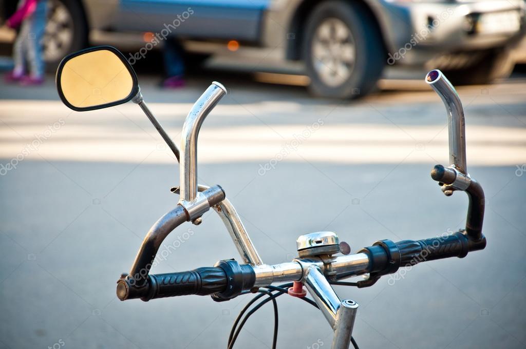 Spiegel Voor Fiets : Spiegel b m cycle star fiets in stuur kort zw atlas fietsen