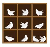 Symbole des Schubladenprinzips