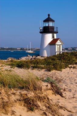 Brant Point Lighthouse on Nantucket Island, MA
