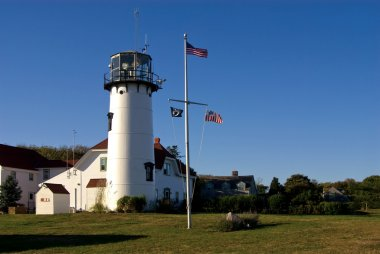 Chatham Lighthouse is Famous Attraction on Cape Cod
