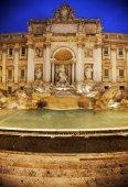 Řím, Itálie: Fontana di Trevi