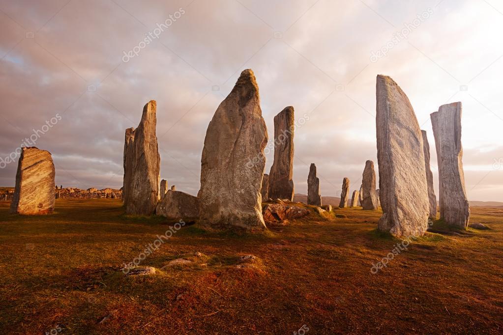 Scotland landscape: Callanish standing stones