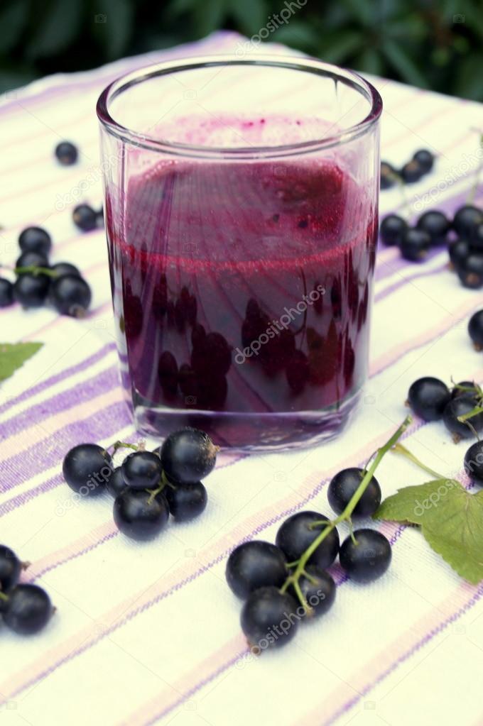 smoothie svarta vinbär