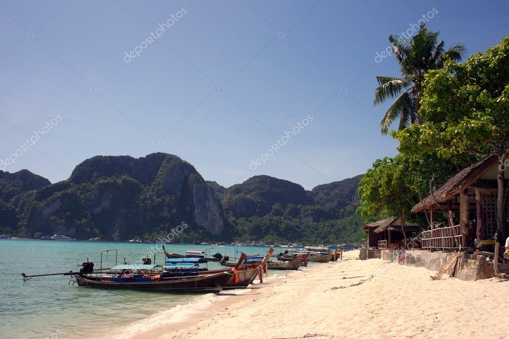 Tropical paradise, Phi-Phi Don Island, Andaman Sea,Thailand