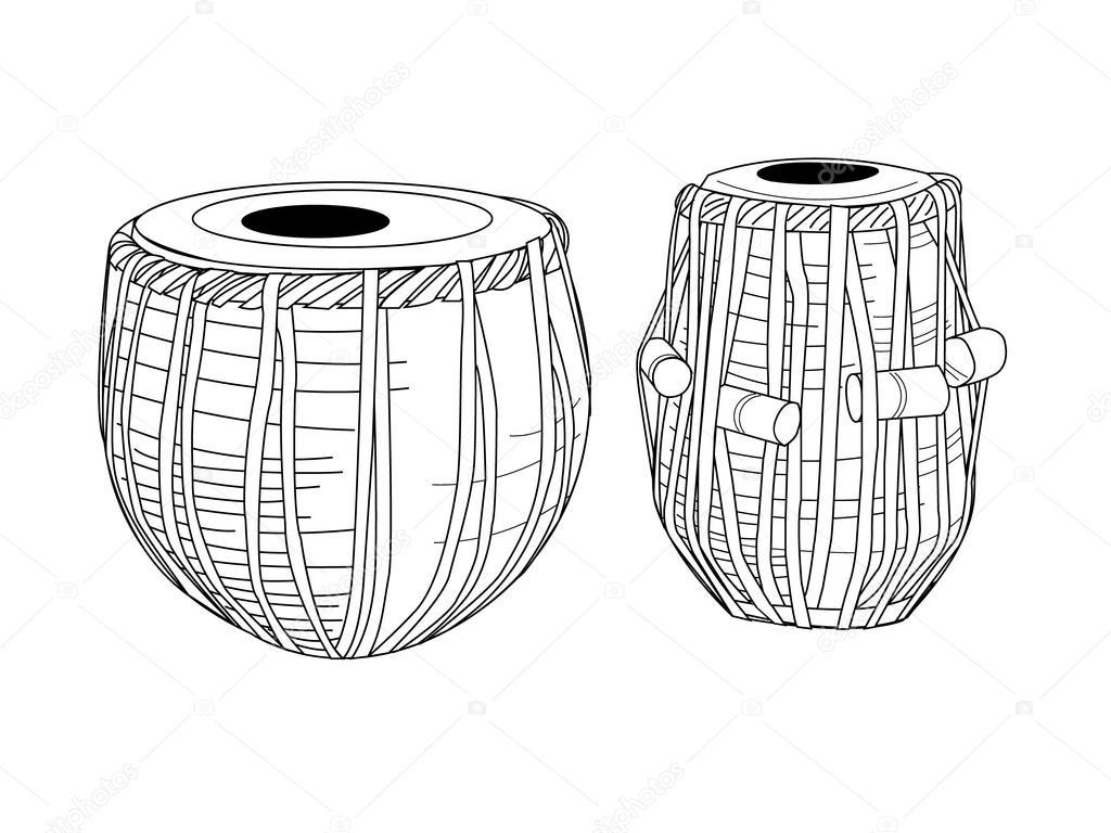 Indian drums tabla
