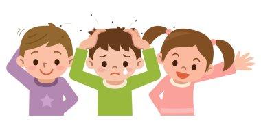 Lice and children